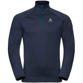 Odlo Pillon Half Zip Midlayer Men diving navy